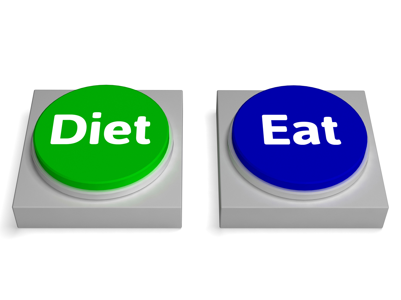 diet or eat buttons