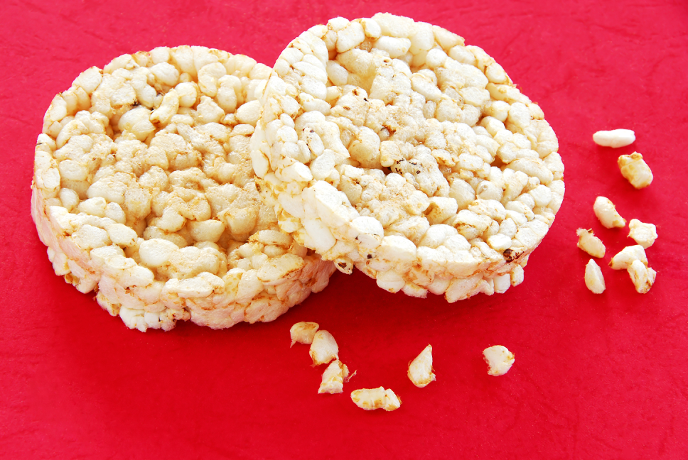 "eating ""fat-free, low calorie"" rice cakes is another example of diets in disguise"