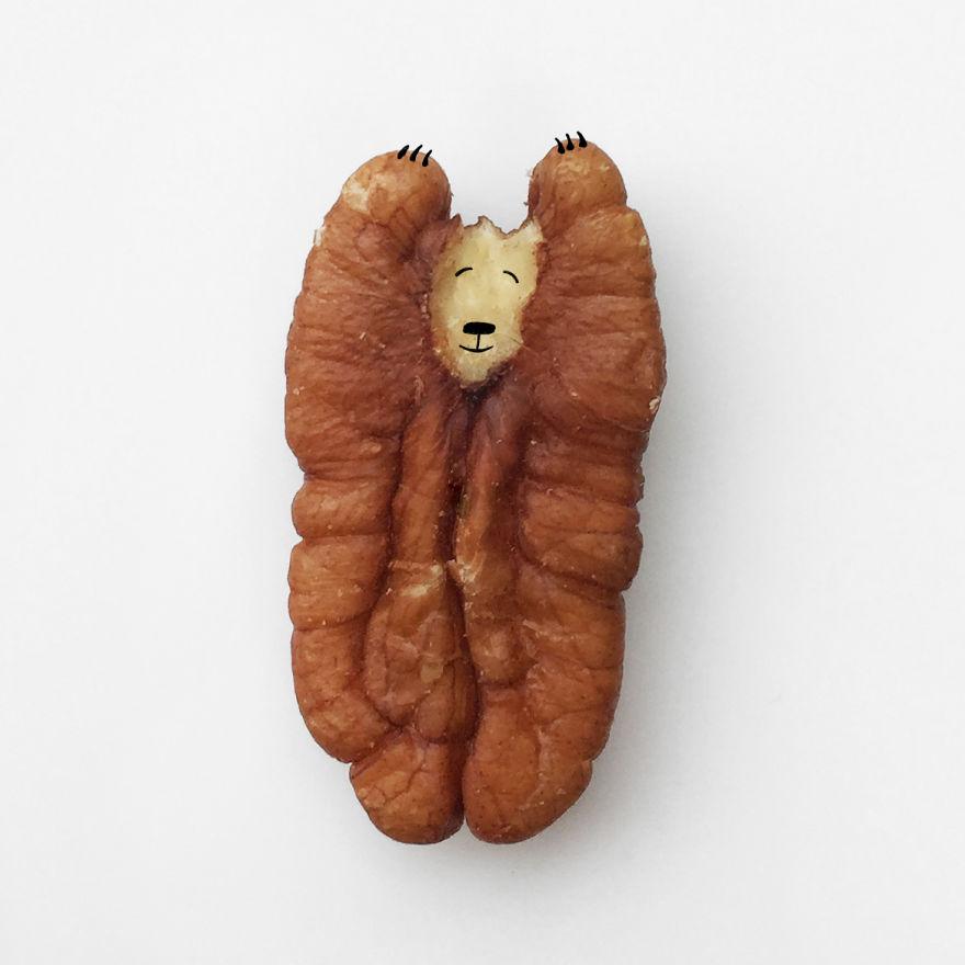 walnut bear