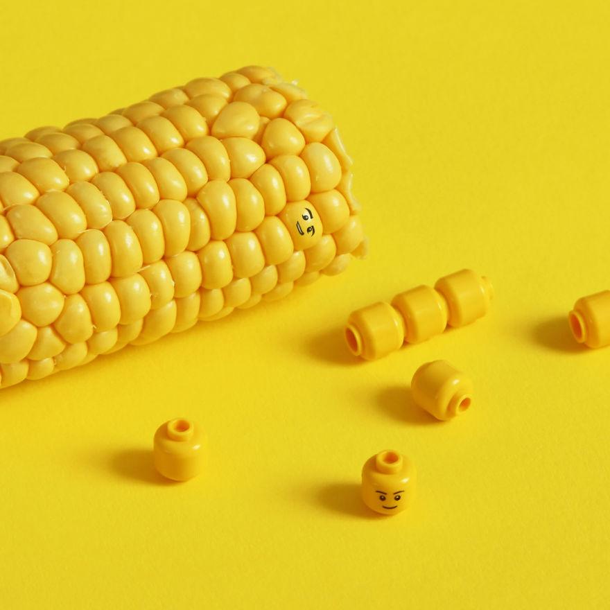 corn lego